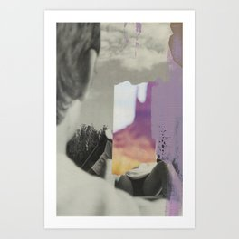 THE TALENTED MR Art Print