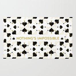 Nothing's Impossible Rug