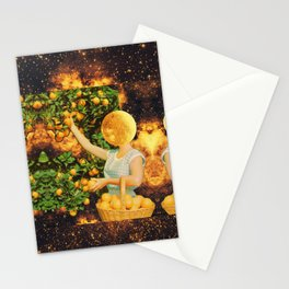 Space fruit Stationery Cards