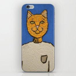 Steve Meowbs iPhone Skin