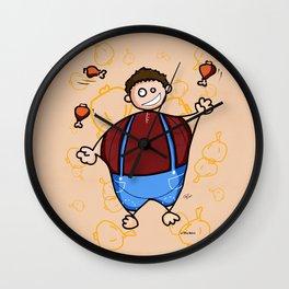 Juggler Wall Clock