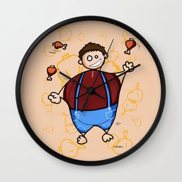 Juggler Wall Clock