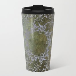 Baroque Mandala Travel Mug