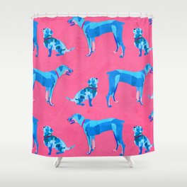 Best dog pals Shower Curtain
