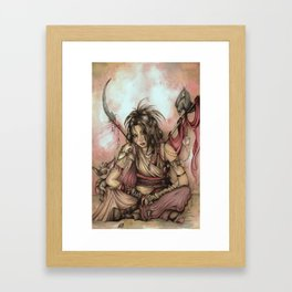 My Familiars Framed Art Print