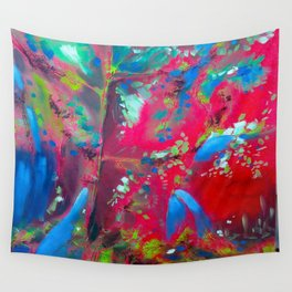 Forest Fire Wall Tapestry