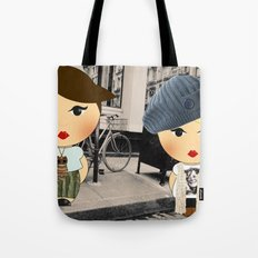 The illustrated ego-bloggers Tote Bag