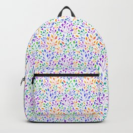 The Growth of Rainbow Leaves Backpack