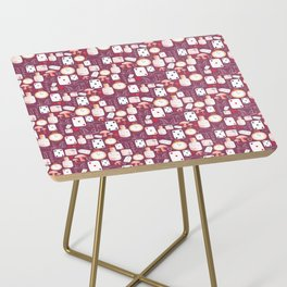 Alice in Wonderland - Purple Madness Side Table