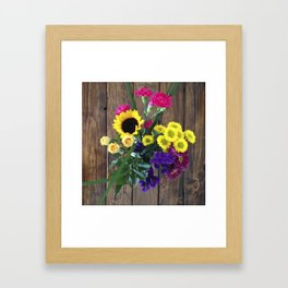 Welcome Home Framed Art Print
