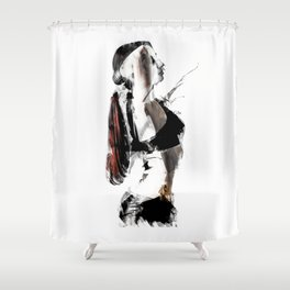 Arch Shower Curtain
