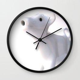 Moo Cow Moo Wall Clock