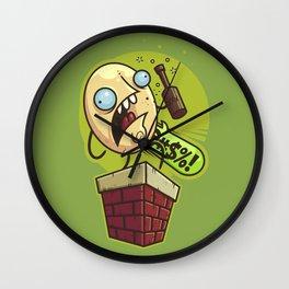 Humpty Drunkty Wall Clock