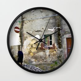 Sardinian Lost Places Wall Clock