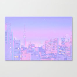 Sailor City Canvas Print
