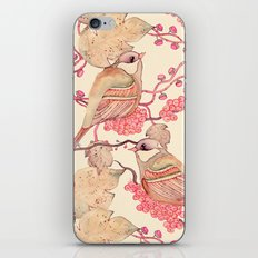Happy Birds iPhone & iPod Skin