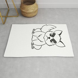 """""""I Hate Everyone Funny Cat"""" tee for fur parents and pet lovers out there! Cutest gift ever!  Rug"""
