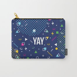 YAY Crazy + Colourful Carry-All Pouch