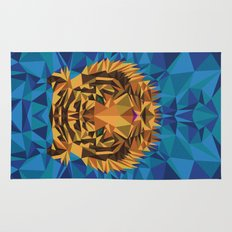 Liger Abstract - Its a Lion Tiger Hybrid Rug