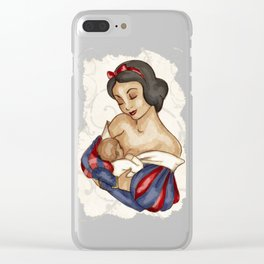 Snow White's Child Clear iPhone Case