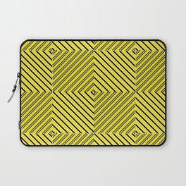 Yellow plaid Laptop Sleeve