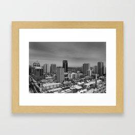 Toronto Landscape Framed Art Print