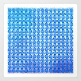 Shells Pattern Art Print