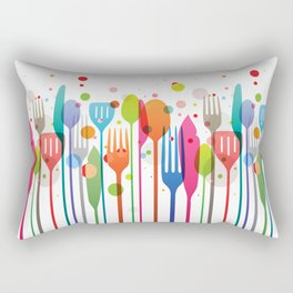 Color Feast Rectangular Pillow