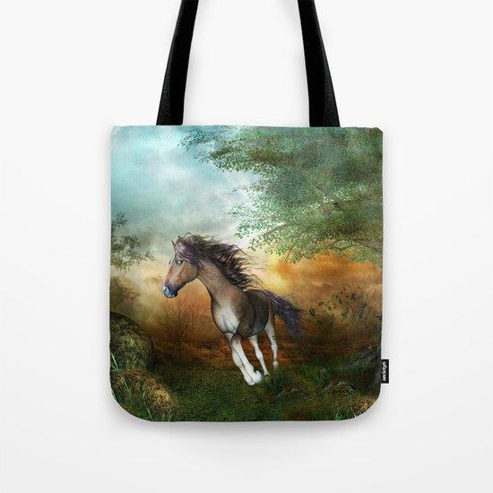 Beautiful brown horse Tote Bag