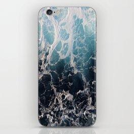 Blue Wave Surf iPhone Skin