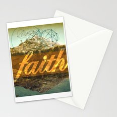 FAITH (1 Corinthians 13:13) Stationery Cards