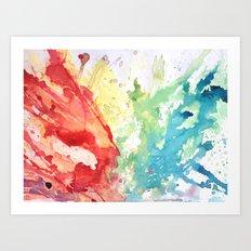 Fluid #1 Art Print