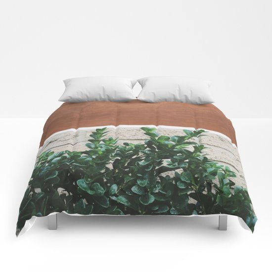 Plant + Copper #society6 #buyart #decor Comforters
