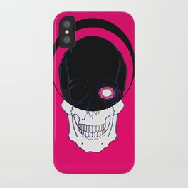 It judges you in Silence iPhone Case