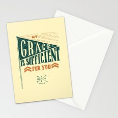 7/52: 2 Corinthians 12:9, part 1 Stationery Cards