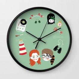 Moonrise Kingdom Wall Clock
