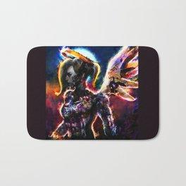 metal angel Bath Mat