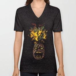 Molotov Pineapple Unisex V-Neck