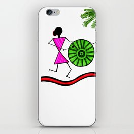 Warli design iPhone Skin