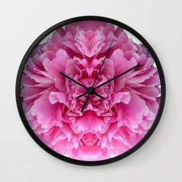 My Personal Peony Wall Clock