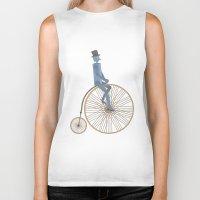 fancy Biker Tanks featuring Fancy! by Stephanie Vanelli