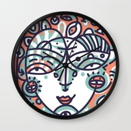 Never i have ever went to a smiths concert Wall Clock