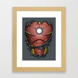Billionaire Armor Framed Art Print