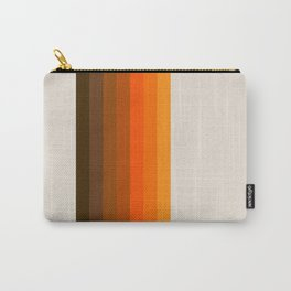 Retro Golden Rainbow - Straight Carry-All Pouch