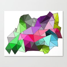 perfect colors in an imperfect configuration Canvas Print