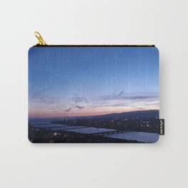 Violet Skies over the Yodo River Carry-All Pouch