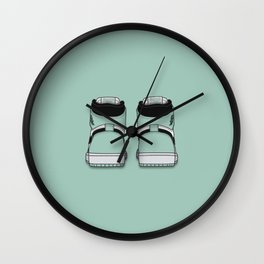 Igloo Print Wall Clock