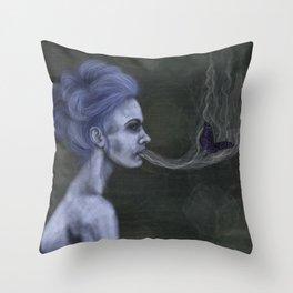 Le Petite Mort Throw Pillow