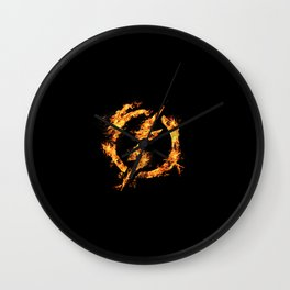 The Fire Flash Wall Clock