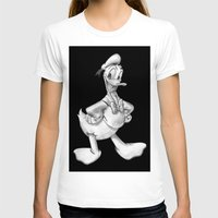 donald duck T-shirts featuring Donald Duck by Dennis Rios